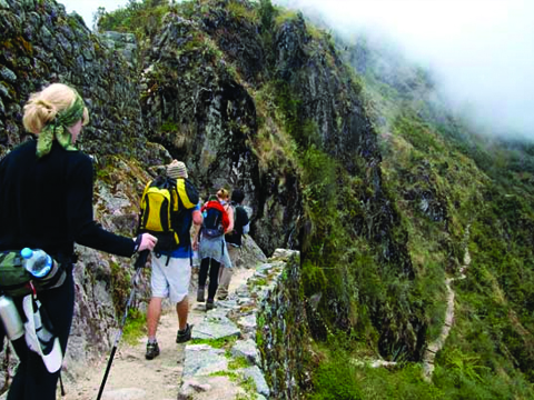 Inca Trail to Machu Picchu 4days