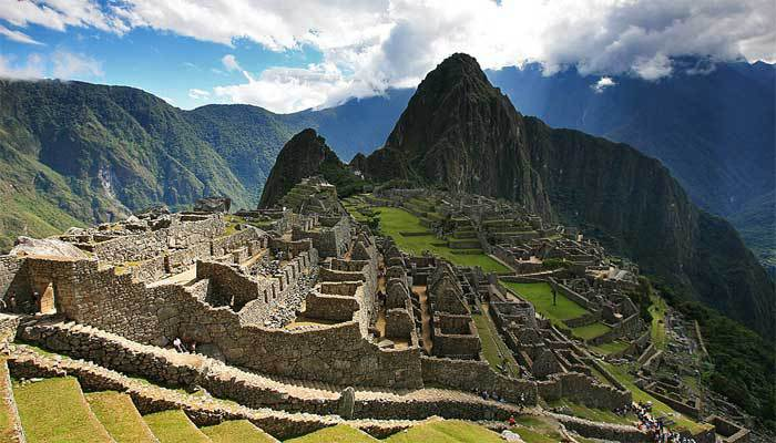 tours machu picchu mountain peru travel
