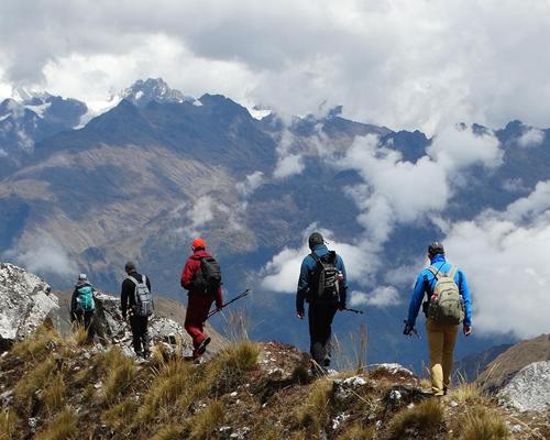 salkantay trek machu picchu trekking tours peru