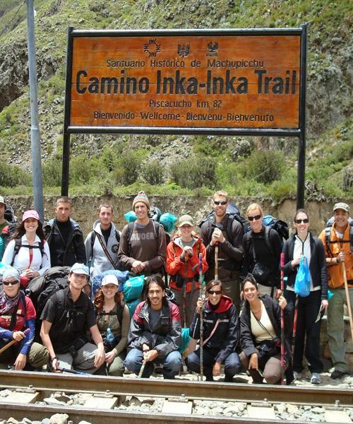 machu picchu trekking inca trail peru