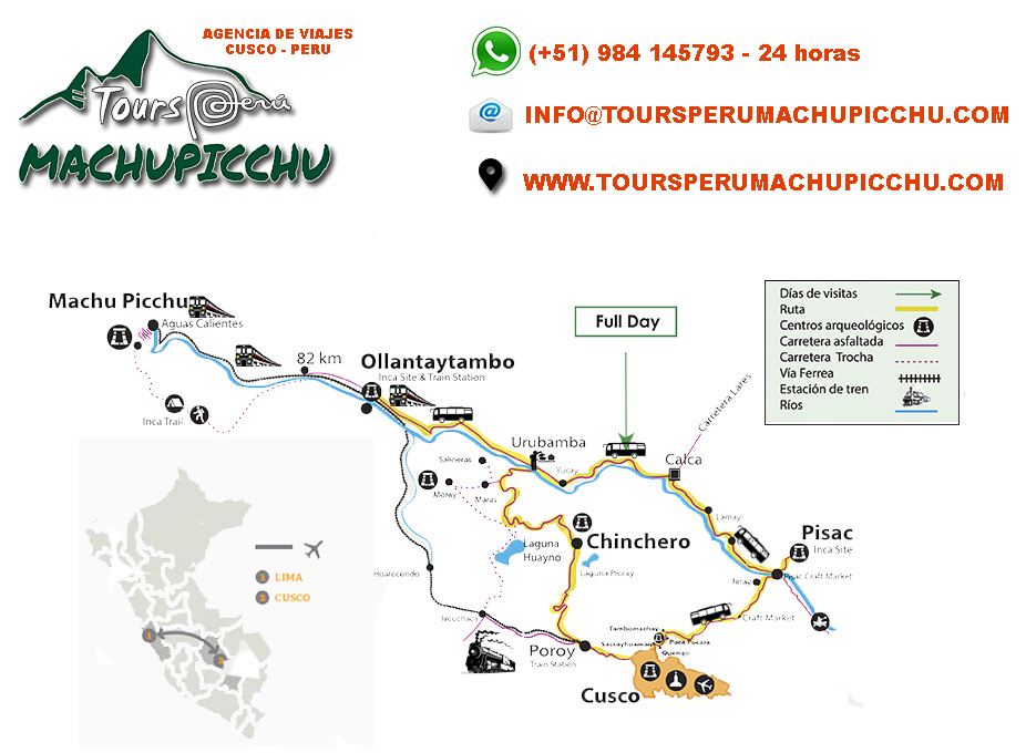 valle sagrado machu picchu en tren 2 dias toursperumachupicchu.com